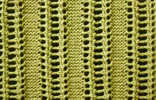 Lacy Ladder - Stitch Sample