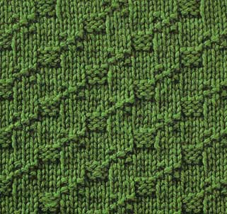 Step by Step Stitch - Stitch Sample